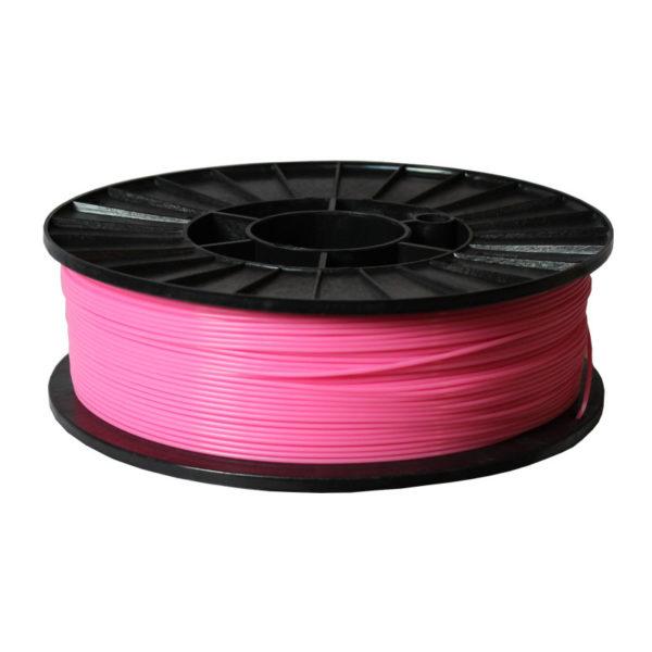 Пластик для 3D печати ABS+ розовый.