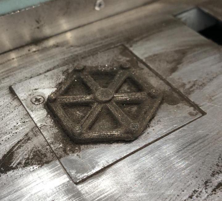 Первый 3D принтер печатающий металлом в Москве и Подольске