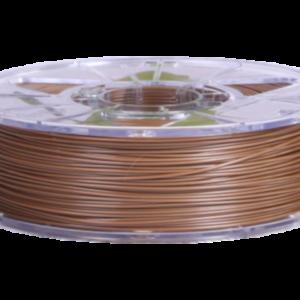 Пластик для 3D печати PLA Ecofil Коричневый Металлик (2,0кг). Купить в Москве и Подольске. Доставка в регионы.