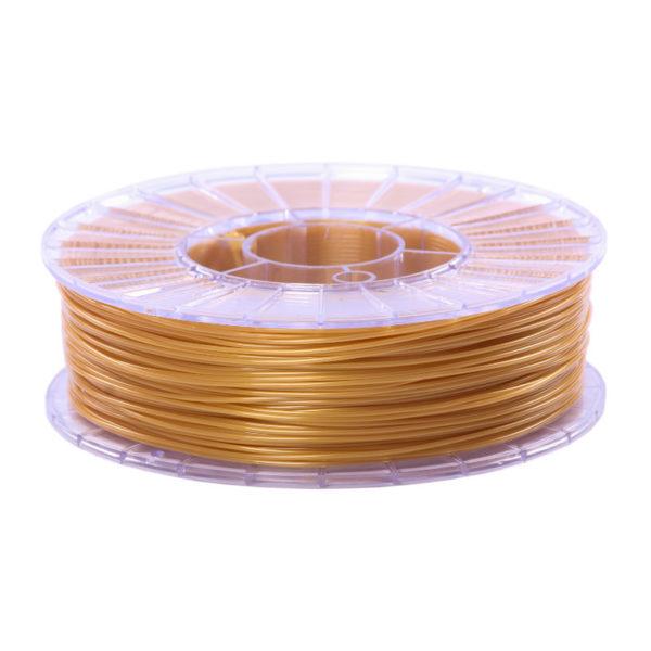 Пластик для 3D печати SBS Золотистый (0,75кг). Купить в Москве и Подольске. Доставка в регионы.