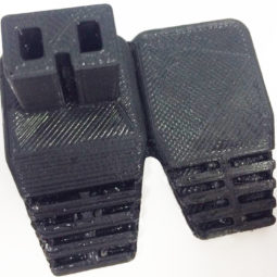 3D печать штекера из эластичного материала Flex