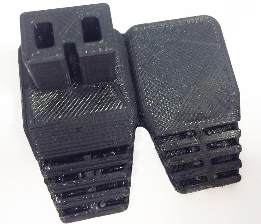 3D печать штекера из эластичного материала Flex в Подольске, с доставкой в Москву