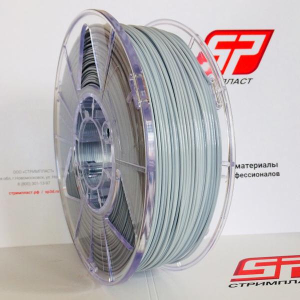 Пластик для 3D печати Ultrapet Серый (1 кг). Купить в Москве и Подольске. Доставка в регионы.