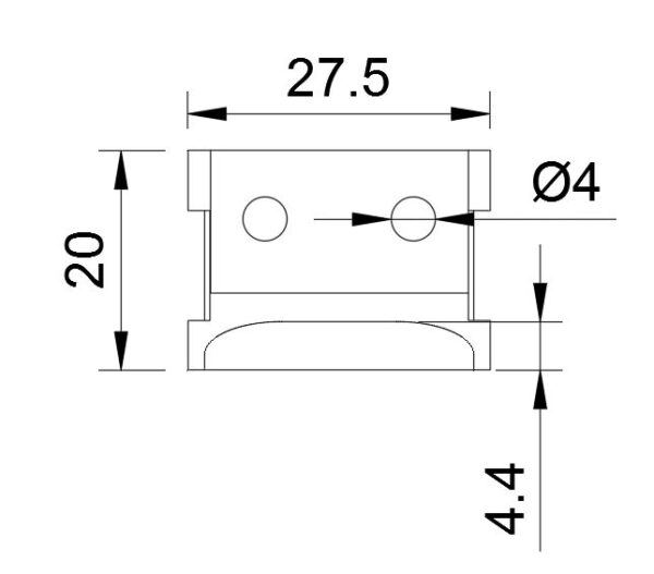 Звено цепи робота герметизатора
